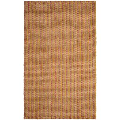Finley Hand-Woven Pink Area Rug