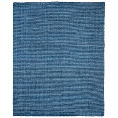 Emery Hand-Woven Blue Area Rug Rug Size: Rectangle 9 x 12