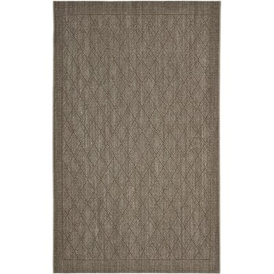 Allegra Hand-Woven Silver Area Rug Rug Size: Rectangle 8 x 10