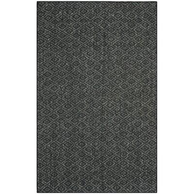 Lexington Charcoal Area Rug Rug Size: Rectangle 8 x 10