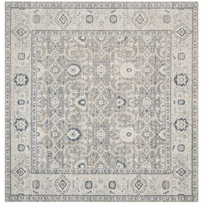 Nielsen Square Taupe Area Rug