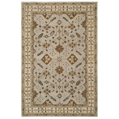 Colliers Hand-Tufted Wool Light Gray Area Rug Rug Size: Runner 23 x 7