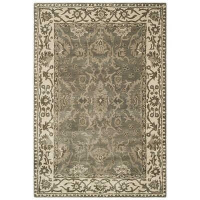 Colliers Hand-Tufted Wool Gray Area Rug Rug Size: Runner 23 x 7