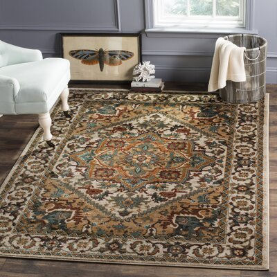 Summit Ivory Area Rug Rug Size: Square 4