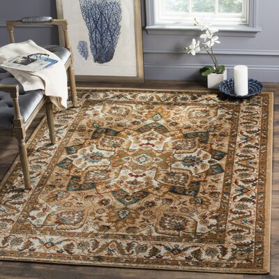 Summit Beige Area Rug Rug Size: Square 4