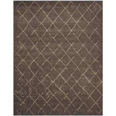 Bennett Dark Brown Area Rug