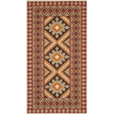 Zahr Red Area Rug