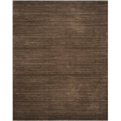 Harloe Brown Area Rug Rug Size: Rectangle 10 x 14