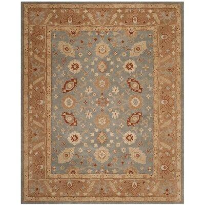 Dunbar Hand-Tufted Wool Blue Area Rug Rug Size: 8 x 10