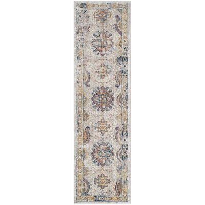 Gardner Light Gray Area Rug Rug Size: Runner 23 x 6