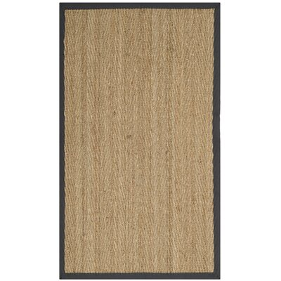 Felisha Natural Area Rug Rug Size: 5 x 8