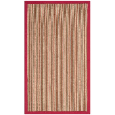 Galatia Brown Area Rug Rug Size: Rectangle 4' x 6'
