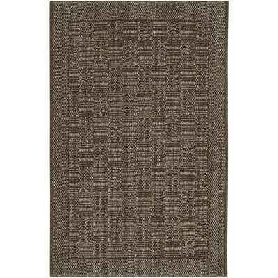 Leavenworth Basketry Brown Area Rug Rug Size: 2 x 3