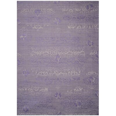 Port Laguerre Purple Area Rug Rug Size: Rectangle 4 x 6