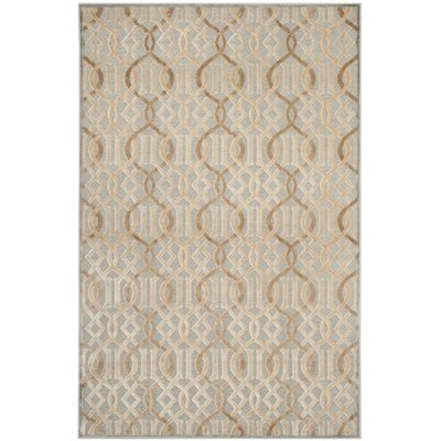 Van Wyck Brown Area Rug Rug Size: Rectangle 5 x 76