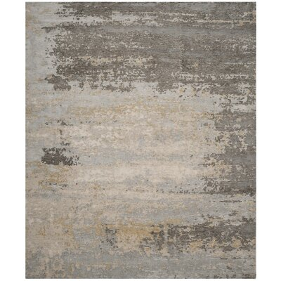 Mason Hand-Knotted Beige Area Rug