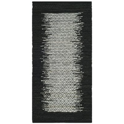 Logan Hand-Woven Light Gray Area Rug Rug Size: 2 x 3