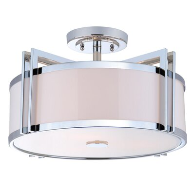 Dublin 3 Light Dia Semi Flush Mount
