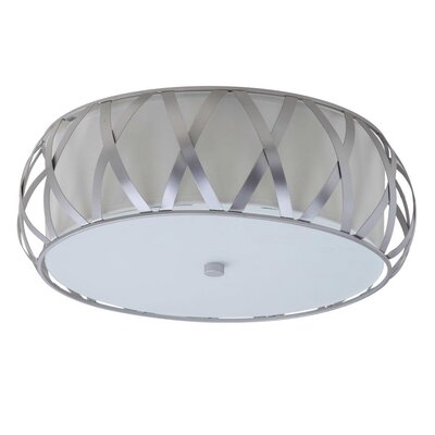 Biddulph 2 Light Dia Cross Flush Mount