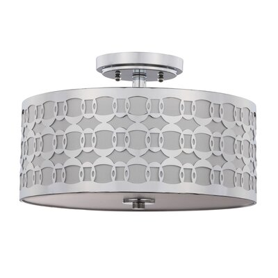 Makenzie Linked 3-Light Semi Flush Mount