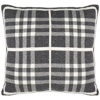 Gabriel Gingham Knit 100% Cotton Throw Pillow