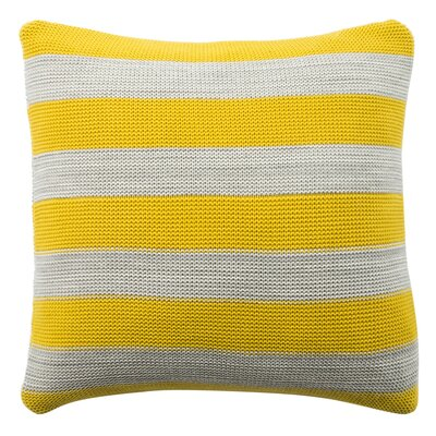 Canipe Knit 100% Cotton Throw Pillow