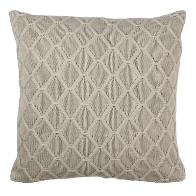 Larios Knit 100% Cotton Throw Pillow