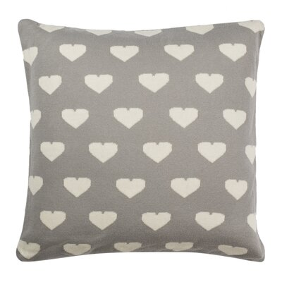 Alexis Knit 100% Cotton Throw Pillow