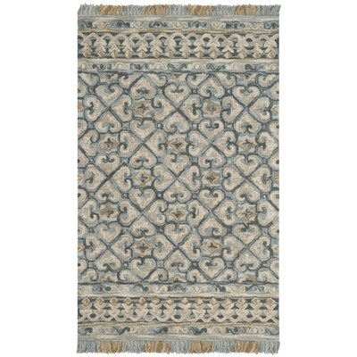 Bradwood Hand-Tufted Light Beige Area Rug Rug Size: Rectangle 5 x 8