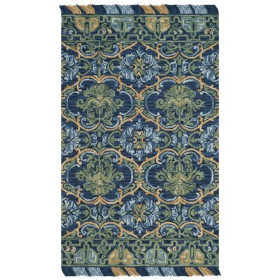 Bradwood Hand-Tufted Navy Area Rug Rug Size: Rectangle 5 x 8