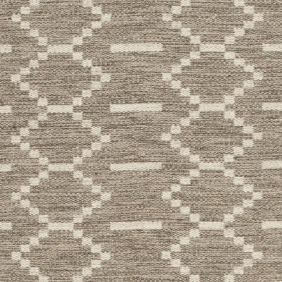 Bennett Hand-Woven Wool Gray Area Rug Rug Size: Rectangle 5 x 8