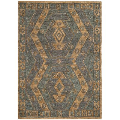 Travis Hand Woven Slate Area Rug Rug Size: Rectangle 4' x 6'