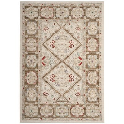 Chauncey Ivory Area Rug Rug Size: Rectangle 5 x 7