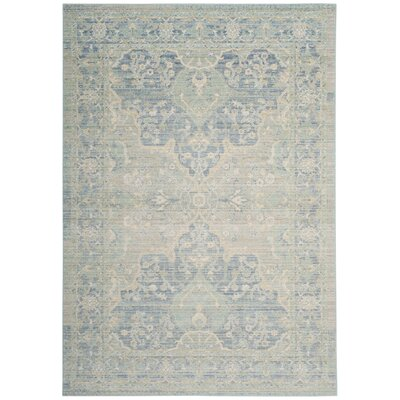 Chauncey Seafoam Area Rug Rug Size: Rectangle 5 x 7