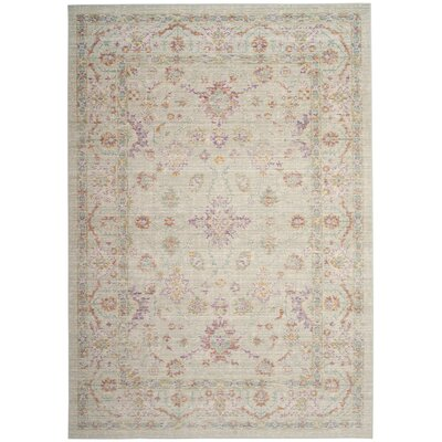 Chauncey Seafoam Area Rug Rug Size: Square 6'