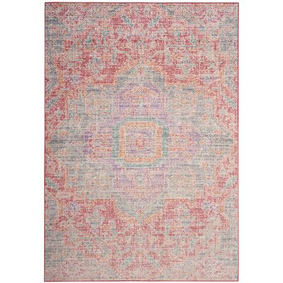 Chauncey Rose / Seafoam Area Rug Rug Size: Rectangle 5 x 7