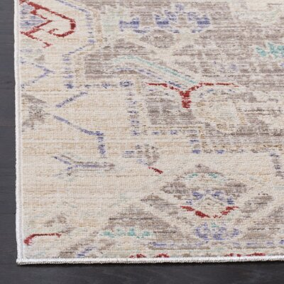 Chauncey Light Gray Area Rug Rug Size: Rectangle 3 x 12