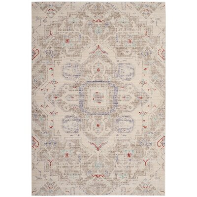 Chauncey Light Gray Area Rug Rug Size: Rectangle 5 x 7