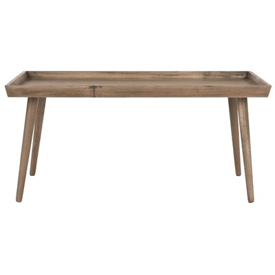 Beem Coffee Table with Tray Top Color: Desert Brown