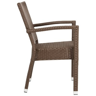 Key Vista Stacking Patio Dining Chair