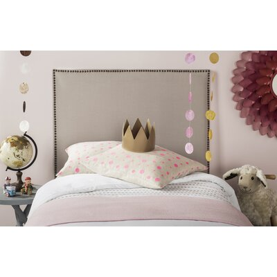 Sydney Upholstered Panel Headboard Size: King
