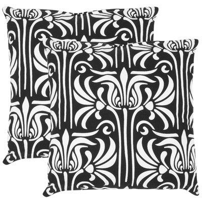 Damia Cotton Decorative Cotton Throw Pillow Size: 18