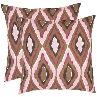 Tristan Cotton Throw Pillow Size: 18 x 18