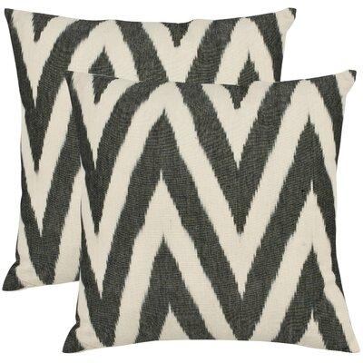 Helena Cotton Throw Pillow Size: 22 H x 22 W