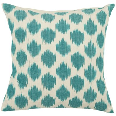 Jillian Cotton Throw Pillow Size: 22