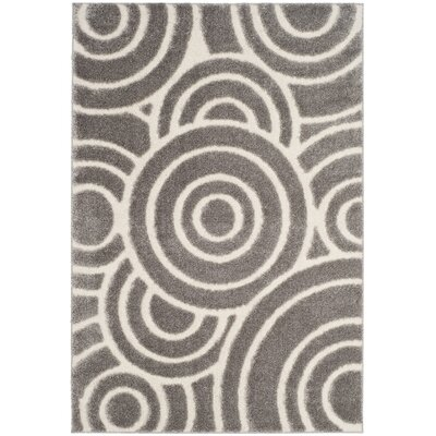 Mckay Gray Area Rug Rug Size: Rectangle 51 x 76