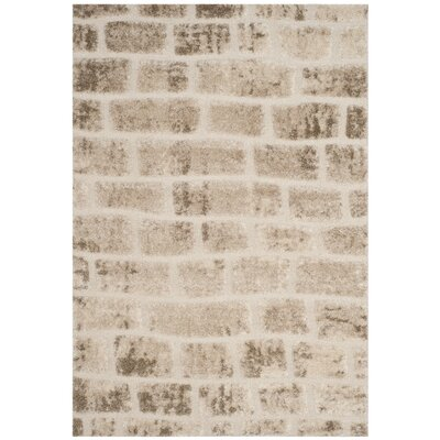 Eisley Taupe Area Rug Rug Size: 51 x 76