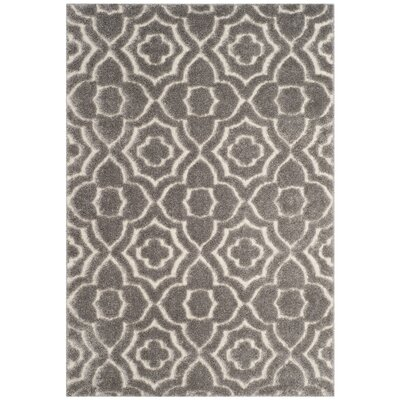 Stonybrook Gray Area Rug Rug Size: Rectangle 51 x 76