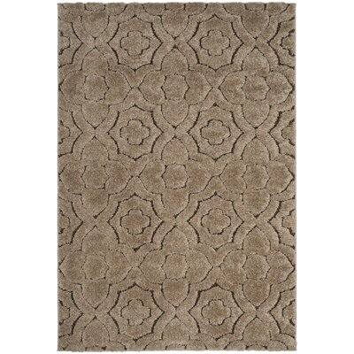 Stonybrook Brown Area Rug Rug Size: Rectangle 51 x 76