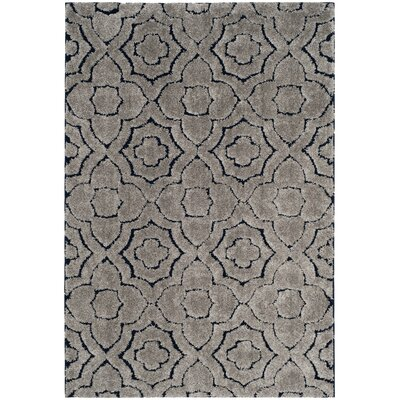 Stonybrook Taupe Area Rug Rug Size: Rectangle 51 x 76